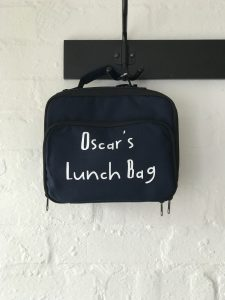 PERSONALISED CHILDS LUNCH BAG