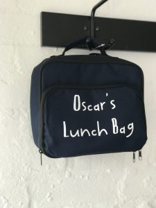 PERSONALISED CHILDS LUNCHBAG