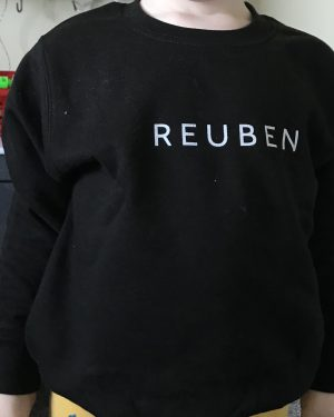 PERSONALISED CHILD SWEATSHIRT