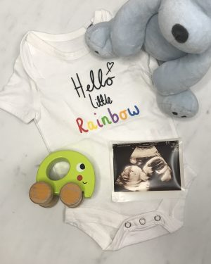 Baby Announcement Vests